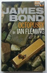 James Bond Octopussy by Ian Fleming 2nd Printing Paperback