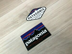PATAGONIA LOGO Decal Sticker Label VENTRA CALIFORNIA and VENTRA CA - SET-B - New
