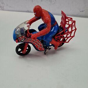 Corgi Toy 266 Spiderman  Spider Bike all Orginal
