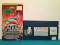 South park the movie  VHS tape & sleeve RENTAL  FRENCH