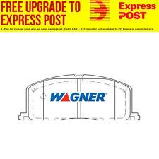 Wagner Brake Pad Set Rear DB1697WB fits Toyota Paseo 1.5 16V,1.5