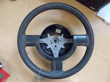2008 CHEVROLET MATIZ BLACK STEERING WHEEL. NO AIRBAG.