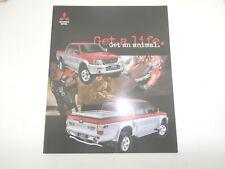 Mitsubishi L200 Animal brochure.2002. In uncirculated condition