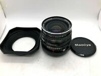 【Nr MINT w/ Hood 】 Mamiya Sekor C 50mm F/4.5 Wide Lens For RB67 RZ67 From JAPAN