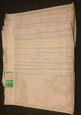 LOT 25 VINTAGE PATHFINDER GREAT BRITAIN ORDNANCE SURVEY MAPS - Scale 1:25,000
