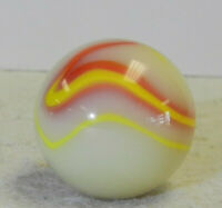 #11776m Rare Unusual Akro Agate Corkscrew Shooter Marble .89 Inches