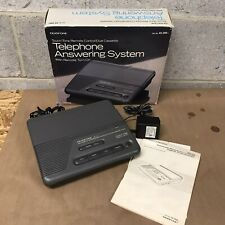 DuoFone Telephone phone Answering System Double Cassette 43-399
