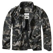 Military Style Jacket Brandit Britannia DARK CAMO Polyester/Cotton Size:XL