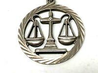 Pendentif au Symbole de la Justice & Balance & Equilibre & Juge & Avocat & Droit