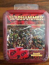 Warhammer Fantasy Orcos dice Set en Lata Nueva Sellada fuera de imprenta ORCOS