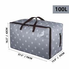 Mattress Topper Storage Bag Large 100L Air Mattress Bag Thick Under Bed Storage