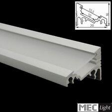 1m ECK-Profil CORNER-10 (ECKE) 30°/60 Leiste + Abdeckung für LED Streifen
