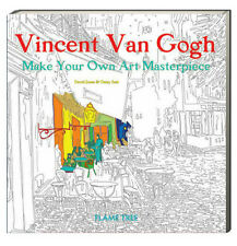 Van Gogh Make Your Own Art Masterpiece Coloring Book (pb) Adult Color Book NEW