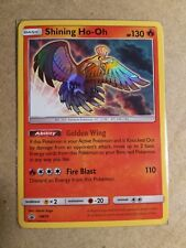 Shining Ho-oh SM70 Black Star Promo - Holo Rare Pokemon Card Near Mint