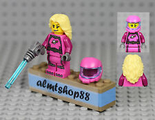LEGO Series 6 - Intergalactic Girl 8827 Minifig Minifigure Space Collectible CMF