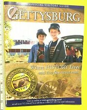 2008 OFFICIAL VISITORS GUIDE ~ GETTYSBURG: WHERE HISTORY LIVES AND THE FUN NEVER
