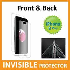 Apple iPhone 8 Plus Screen Protector Invisible FRONT and BACK Shield - Military