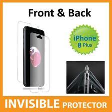 Apple iPhone 8 PLUS Protezione Schermo Invisibile Scudo anteriore e posteriore-Militare