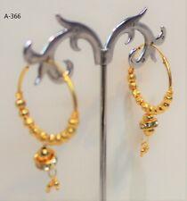 Cheapest Price Indian Jumka Jumki Earring Gold Plated Bollywood Wedding Style Uk