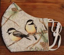Chickadee Handmade Mask