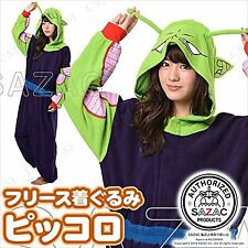 Sazac Dragon Ball Piccolo Fleece Kigurumi Cosplay Costume Party Pajamas