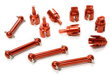 C26387RED Integy Billet Machined Alloy Dog Bone(4)for HPI 1/10 Scale E10