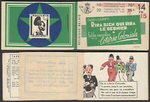 Belgium 1936-Booklet 20 stamps A34a (II). Infill: Laugh well....(DD) MV-3767