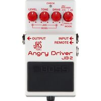 BOSS JB-2 Angry Driver Overdrive Distortion Buffered Bypass Guitar Effects Pedal