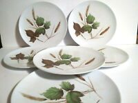Texas Ware Melamine Dinner Plates Lot Of 6 Vintage Flawed Camping Kids Play