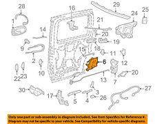 GM OEM Side Sliding Door-Lock 25780730