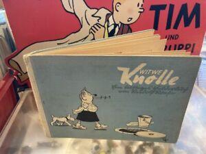 Witwe Knolle  HC  Quer guter Zustand Verlag 1940 Comic Vorkrieg Berlin Aufwärts
