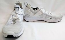 Puma Men's Ignite Evoknit Cross Low Cross-Trainer Shoes- White/Grey- US 9.5,US11