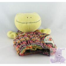 10276 - Doudou marionnette grenouille verte la grande famille MOULIN ROTY - Secu