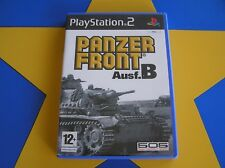 PANZER FRONT AUSF. B - PLAYSTATION 2 - PS2