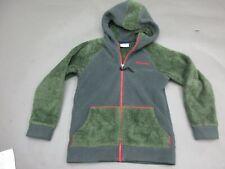Columbia Size S Gray Green Boys Fleece Sportswear Top Hoodie 572