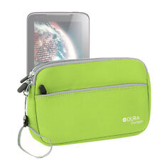 """Pouch-Style Case in Green Neoprene for Lenovo A1000 / A1000L 8GB 7"""" / Tab S8-50"""