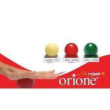 Pallina riabilitativa fitness antistress - Verde - Tensione Forte -5cm - Orione