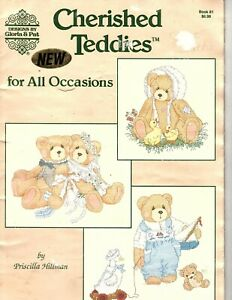 Gloria & Pat - Cherished Teddies for All Occasions Counted Cross Stitch Patterns