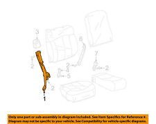GM OEM Front Seat-Belt & Retractor Left 88956019