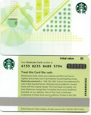 NEWEST 2017  STARBUCKS CORPORATE FINANCIAL   #6133   NOT IN  STORES GIFT CARD