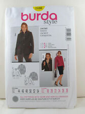 Burda Pattern 7330 - Jacket - Sz. 18 20 22 24 26 28 - NEW!