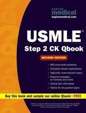 USMLE Step 2 CK QBook (Kaplan USMLE Qbook), Kaplan, Good Condition, Book