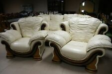 Solid Wood Art Deco Style Sofas, Armchairs & Suites
