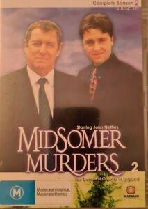 Midsomer Murders Season 2 (DVD, Region Free ,2-Disc)