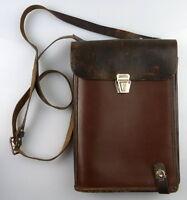original alte Kartentasche mit Kompass, so265