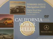 08 / 2008 Mercedes CLK CLK350 CLK550 CLK63 GPS Navigation DVD Map 0226 Rel 2007
