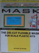 Eduard 1/72 CX046 Canopy Mask for the Hasegawa Grumman TBF/TBM Avenger