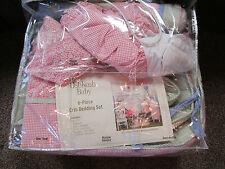 Oshkosh baby girls 6-piece Strawberry Garden Bedding Crib Set Nursey Comforter