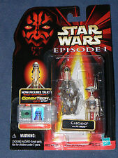 Star Wars Episode 1 Gasgano with Pit Droid CommTech Figure