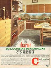 Publicité Advertising 1965 Cuisine de campagne COMERA meuble